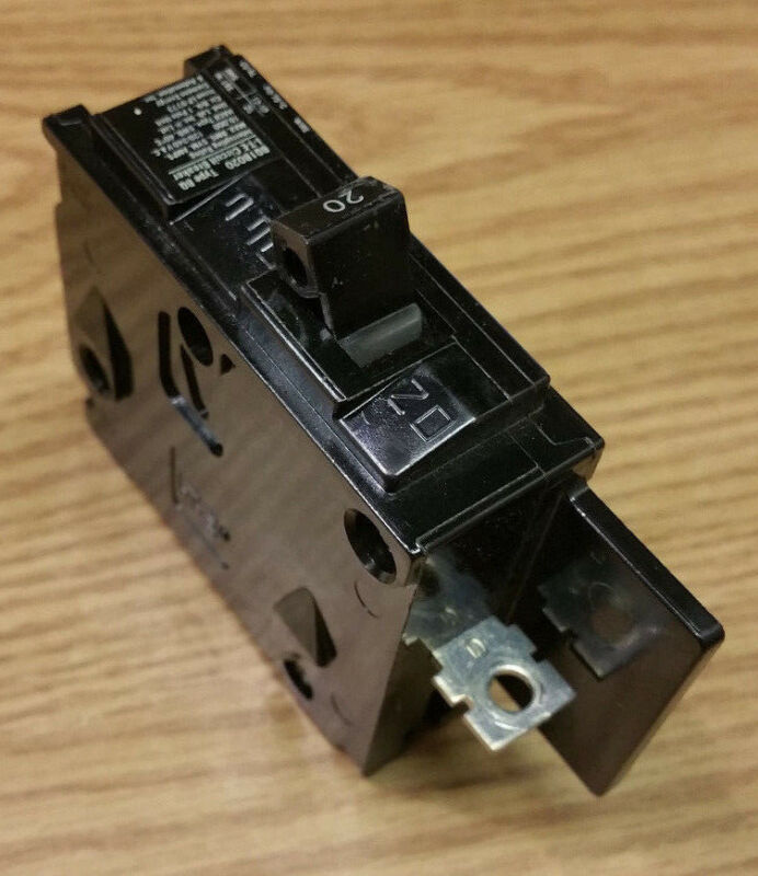 ITE SIEMENS TYPE EQ-B BQ1B020 20 AMP 1-POLE BOLT-IN BREAKER BREAKERS