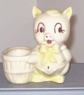 1950's Vintage Porky Pig Planter in Excellent Condition