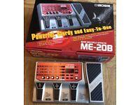 Boss ME-20B Bass Guitar Multi Effects Digital Processor / Pedals (SFX Compression Delay etc)