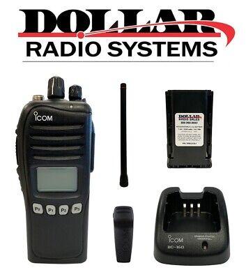 Used Icom Ic-f3161ds Vhf 136-174mhz 512ch Ltr Trunking Digital Analog Radio Kit