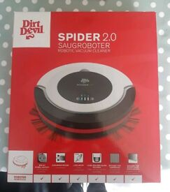 Dirt Devil Spider 2.0 (Latest) Robot Vacuum Cleaner