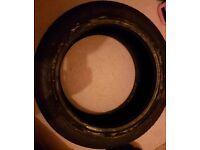 Bridgestone Potenza runflat 205 50 R17 89v part work tyre