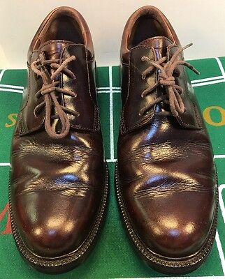 Cole Haan Country Brown Plain Toe Oxfords WP Waterproof Men