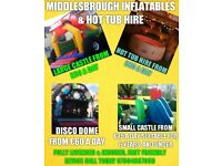 BOUNCY CASTLE & HOT TUB HIRE