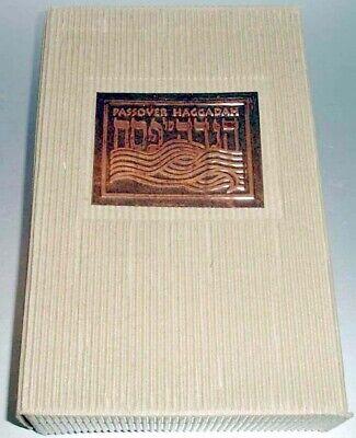Gad Almaliah Passover Haggadah Illustrated Softcover 5 Piece Slipcased Set New
