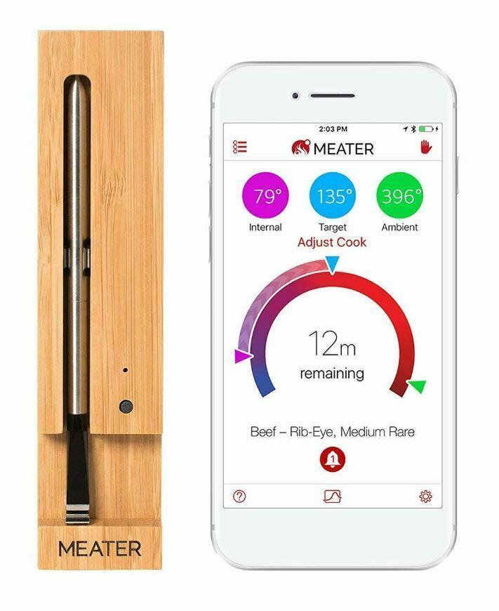 MEATER Original True Wireless Smart Meat Thermometer Bluetoo