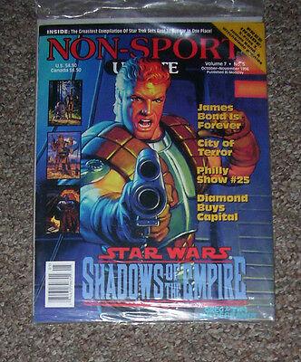 NON-SPORT UPDATE VOL 07 NO 5 OCT 1996 - NOV 1996 Star Wars Shadows of the Empire