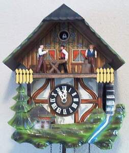 Animated Cuckoo Clock Ebay