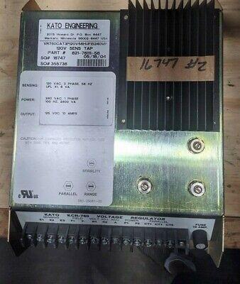 New - Kato- Automatic Voltage Regulator Kcr-760