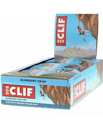 CLIF | Energy Sport Protein Bar Blueberry 68g Full Case Deal Box Pack of 12 New