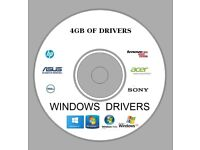 2018 Complete Drivers DVD
