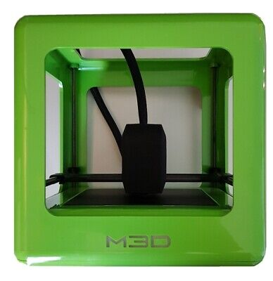 Used - M3D Micro Green 3D Printer - Including Heated Print Bed