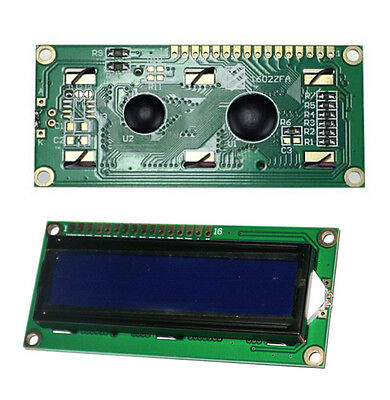 For Arduino 1602a Blue Lcd 1602 Backlight 5v With Screen Module Display Hot