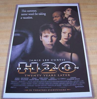 Halloween 7 H20 11X17 Movie Poster Original Version Michael Myers
