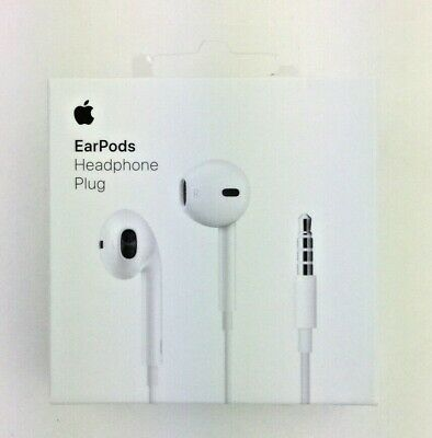 Apple In-Ear Wired EarPods for 3.5mm Connection - White (A1472)