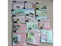 Bundle of H&H Sentiment Tea Towels / Dual Hand Towels - 16 in Total - All Brand New and Sealed