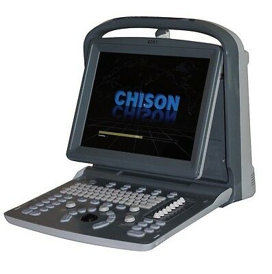 NEW CHISON ECO1 PORTABLE ULTRASOUND MACHINE, QUALITY, LED, LINEAR & PRINTER INCLUDED