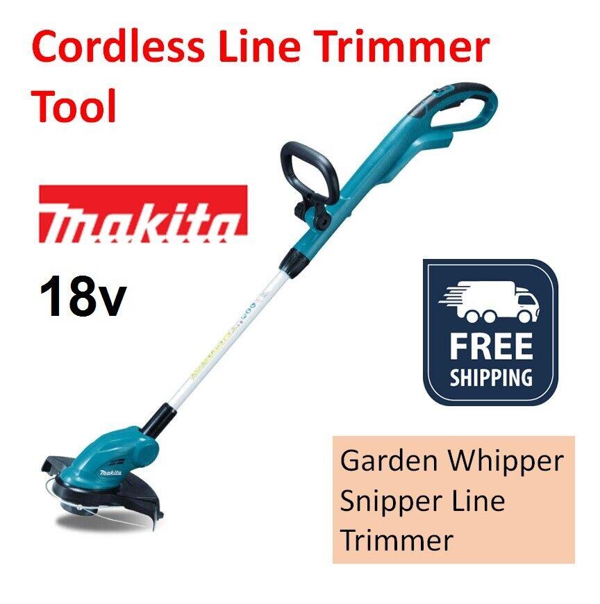 Makita 18v Line Trimmer Cordless Whipper Snipper Brush