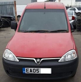 VAUXHALL COMBO BREAKING FOR PARTS