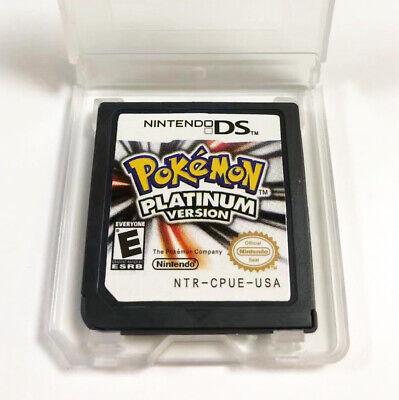 Pokemon PLATINUM VERSION (Nintendo DS, 2009)