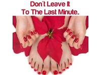 Book your Christmas beauty treatments