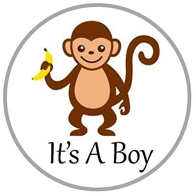 Penguin Party Favors (144 It's A Boy Kisses Labels - Party Favors - Monkey, Penguin, Elephant &)