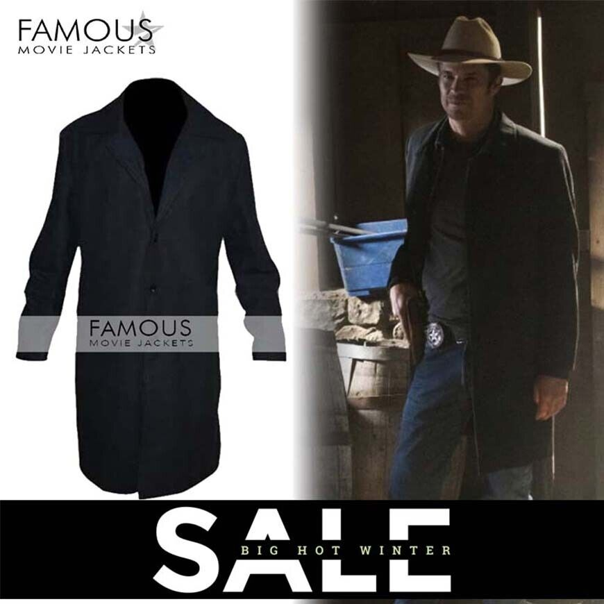 Justified Timothy Olyphant (Raylan) Trench Coat Jacket | in Richmond, London | Gumtree