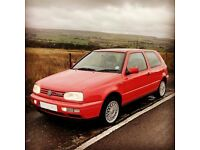 VW Golf VR6 Auto very low miles 71k full S/H