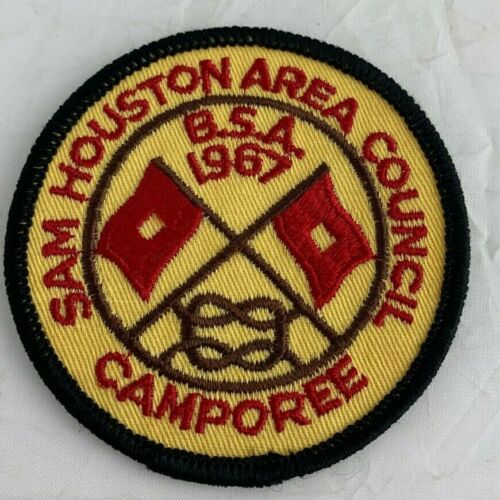 Boy Scouts of America 1967 Sam Houston Area Council Camporee Vintage BSA