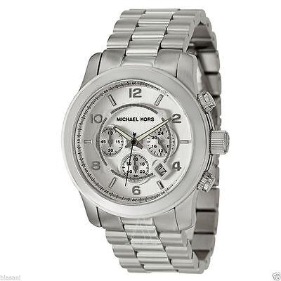 Michael Kors Men's MK8086 Silver Stainless-Steel Quartz Watch