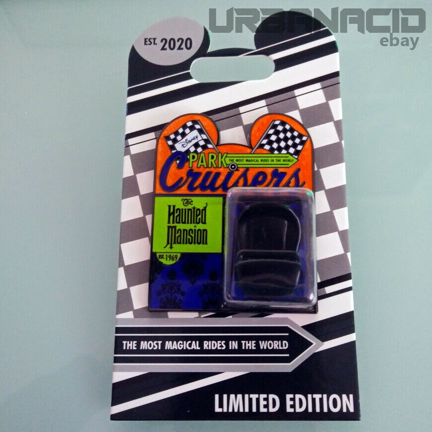 February 2020 Disney Park Cruisers The Haunted Mansion Doom Buggy Pin