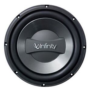 """12"""" infinity subwoofer in enclosed box"""