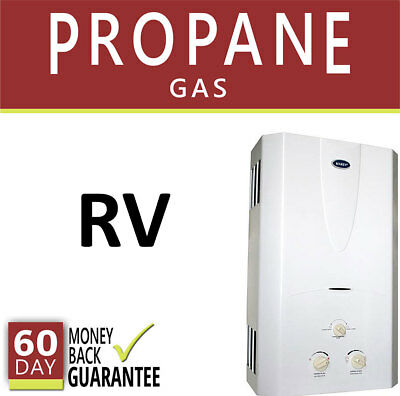Tankless Hot Water Heater 2 GPM Marey Propane Gas LPG Instant On Needed RV