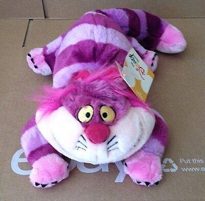 Vintage Cheshire Cat Plush Disney Store 1/2 Bean Bag 16