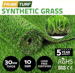 10SQM Synthetic Turf Artificial Grass Plastic Fake Lawn 30mn