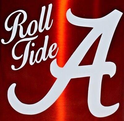 ALABAMA CRIMSON TIDE DECAL, FREE SHIPPING Alabama Crimson Tide Decals