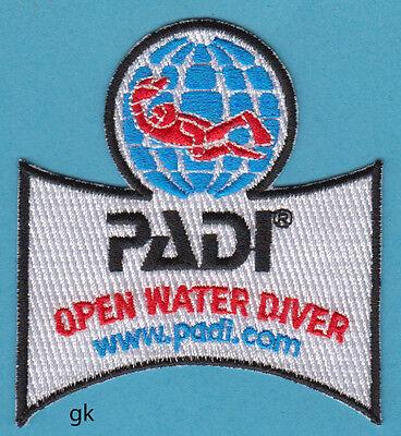PADI OPEN WATER DIVER  SCUBA DIVE PATCH