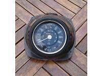 Classic mini speedometer