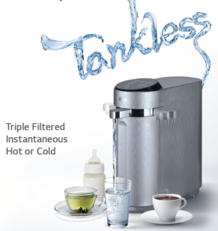 LG Filtered Water Dispensers for your home and business