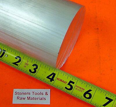 3-18 Aluminum Round Rod 4 Long 6061 T6511 3.125 Od Solid Lathe Bar Stock