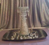Mini Chandeliers And Tea Light Holders * Calgary Party Rentals