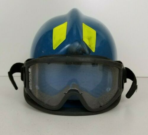 Cairns 360R Firefighter Helmet Low Profile Rescue w/ Goggles MFG. 2011