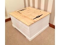Pine Ottoman Coffee Table***ONLY £79***