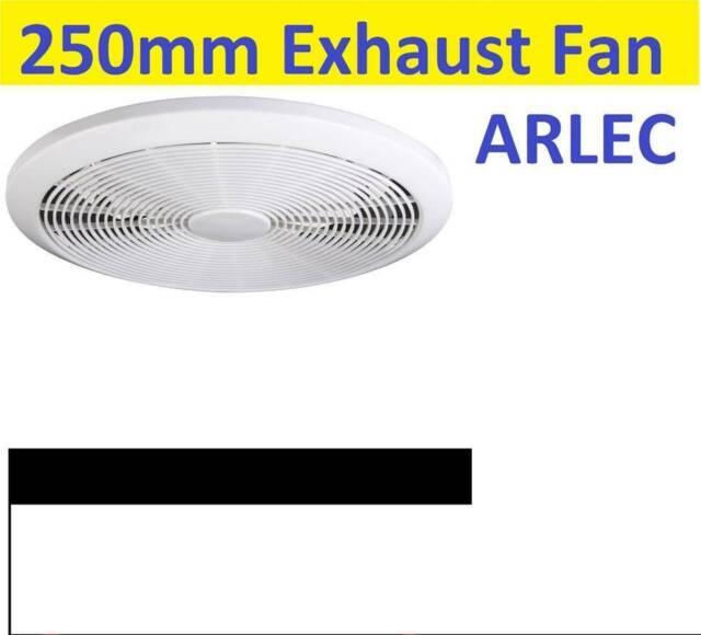 Arlec 250mm Energy Efficient Exhaust Fan Ceiling Round