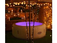 Hot tub hire party Spa party Lay Z spa Jacuzzi