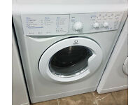 C306 white indesit 6+5kg 1200spin washer dryer comes with warranty can be delivered or collected