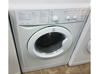 BB306 white indesit 6+5kg 1200spin washer dryer comes with warranty can be delivered or collected