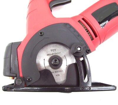 55493 Mini Handkreissäge Laser 600W Kreissäge 22mm Tauch Säge Stichsäge Holzsäge