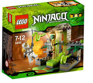 LEGO NINJAGO 9440 *VENOMARI SHRINE* SET ZANE ZX SNAKE TRAP NEW FACTORY SEALED