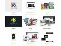 Graphic, Web Design service, Wordpress - Logo & Brand Development/ Brochures & Flyers